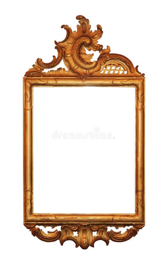 изображение рамки золотистое стоковое изображение rf