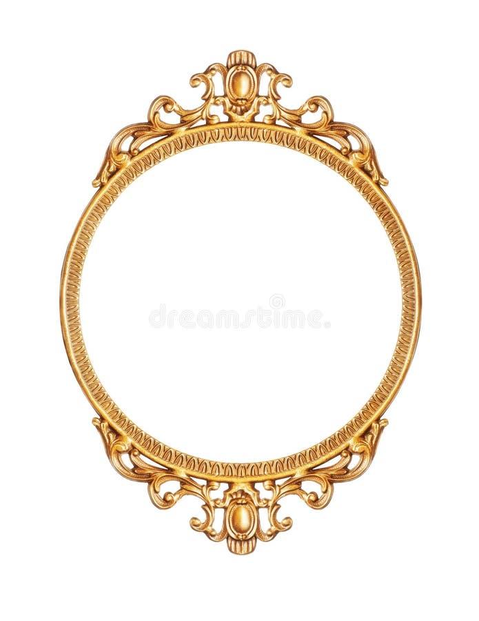 изображение рамки золотистое стоковая фотография rf