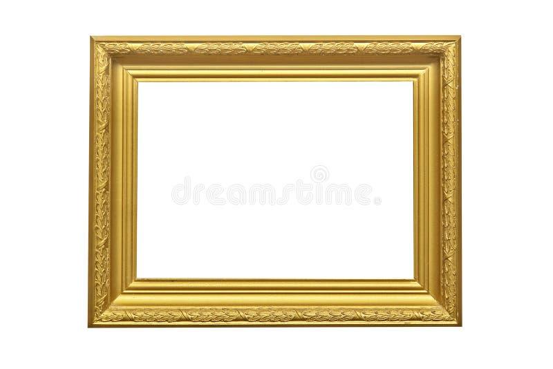 Download изображение рамки золотистое Стоковое Изображение - изображение насчитывающей изображение, бело: 4551407