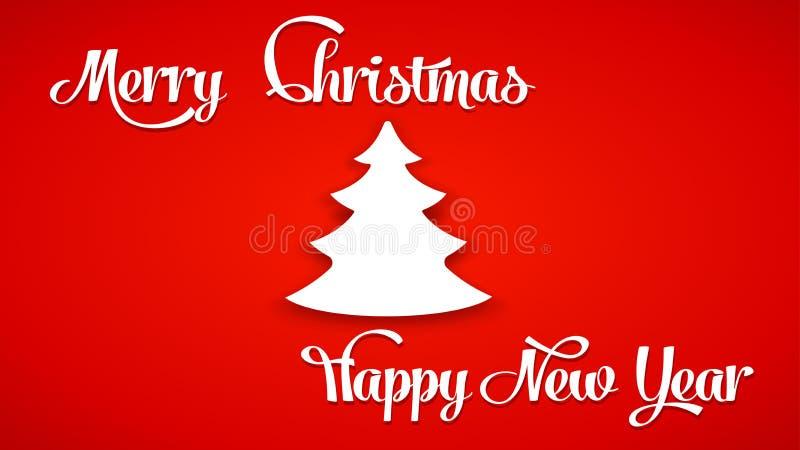 Изображение рождественской елки иллюстрация штока