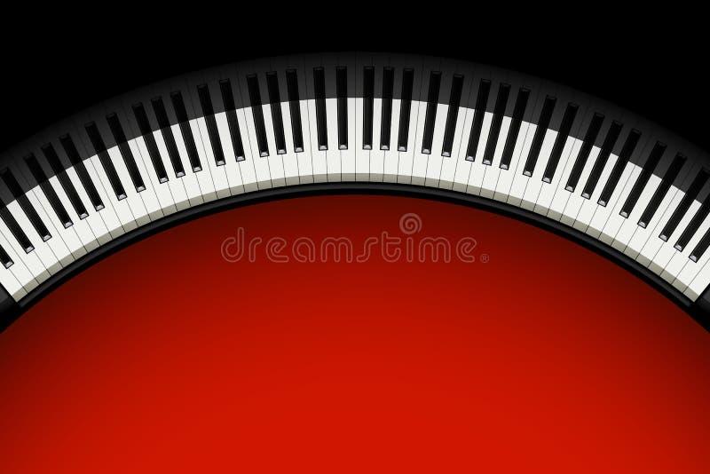 Изображение рояля 01 иллюстрация штока
