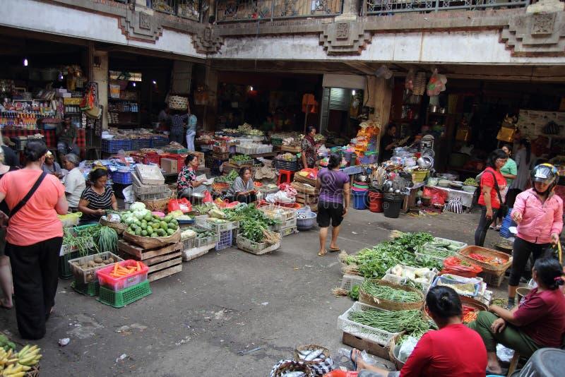 Рынок Ubud, Бали стоковое фото rf