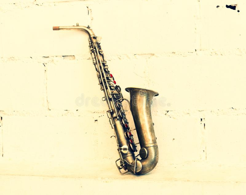 Изображение саксофона стоковые изображения