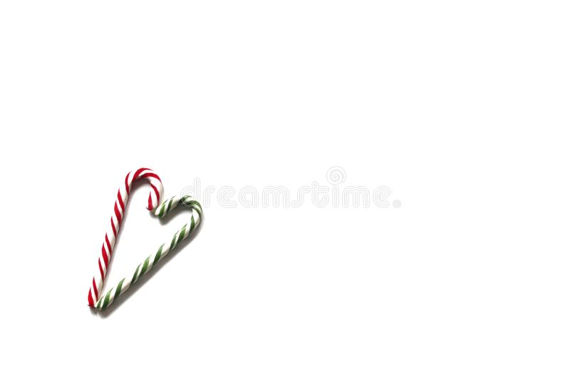 Изображение сердца конфеты рождества стоковая фотография