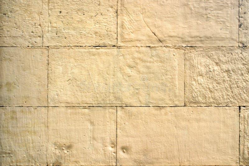Изображение старого желтого крупного плана кирпичной стены стоковая фотография rf