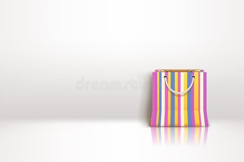 Изображение сумки самостоятельно иллюстрация штока