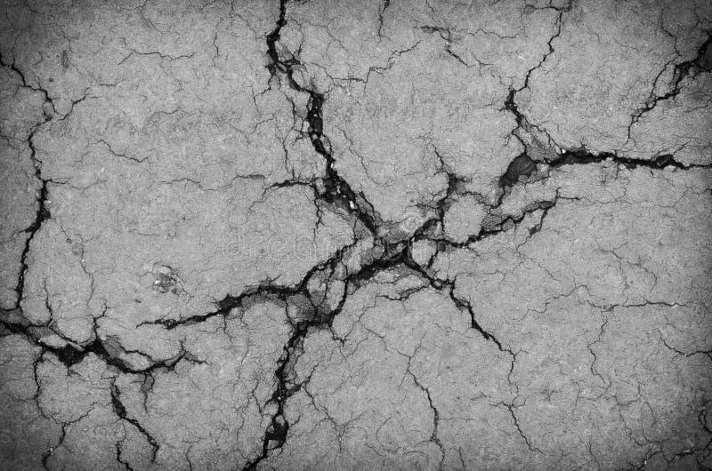 Изображение сломленной текстуры дороги стоковое изображение rf