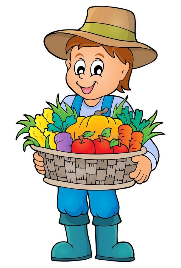 Изображение 4 темы фермера бесплатная иллюстрация