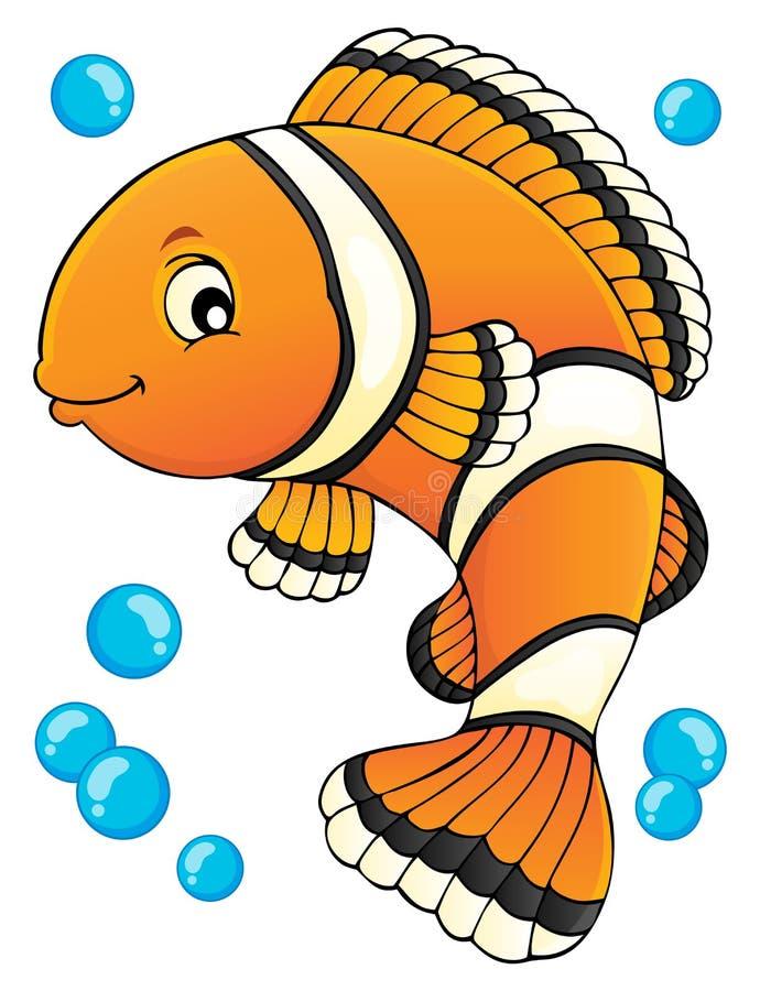 Изображение 1 темы Clownfish иллюстрация штока