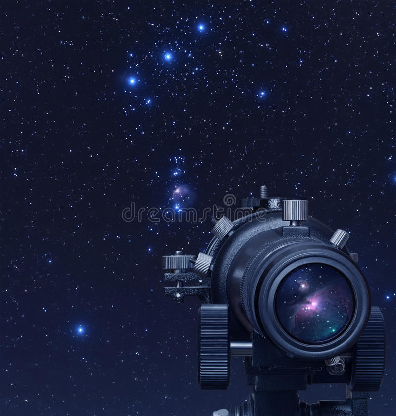 Астрономия иллюстрация штока