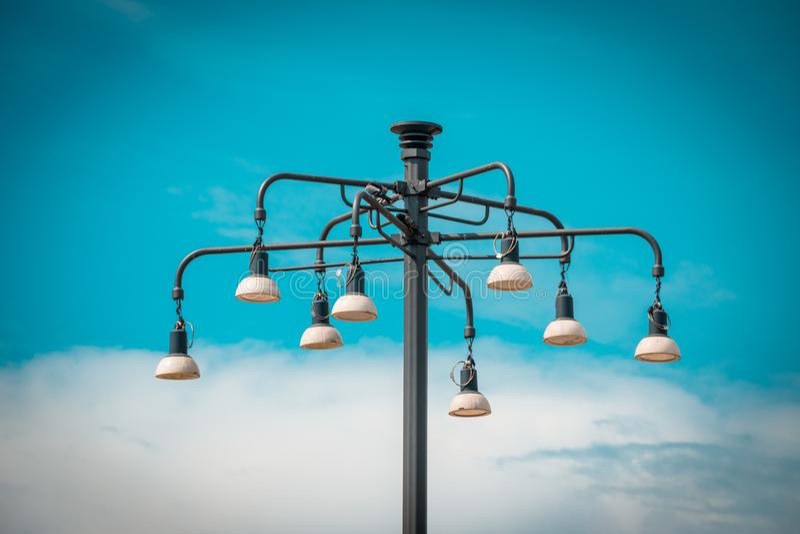 Изображение уличного света стоковая фотография rf