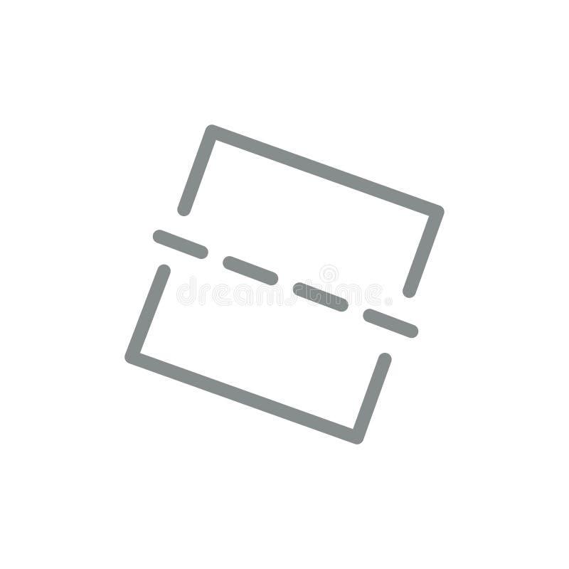 Изображение, фото, выправляет плоский значок цвета Шаблон знамени значка вектора иллюстрация вектора