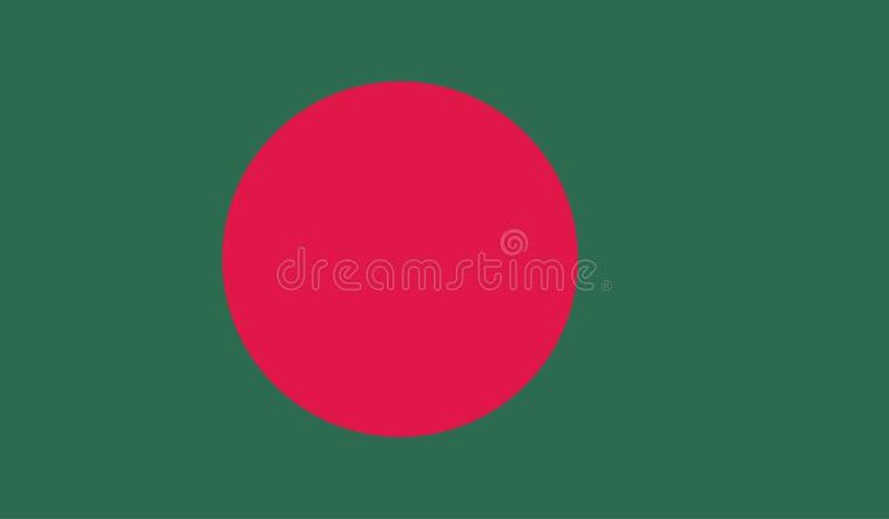 Изображение флага Бангладеша иллюстрация штока