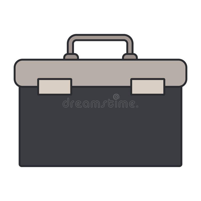 Изображение цвета паять инструментальный ящик бесплатная иллюстрация