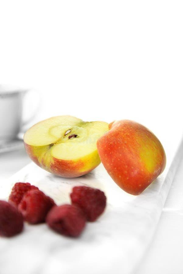 Изображение Яблока завтрака стоковые изображения rf