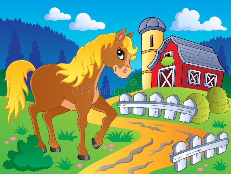 Изображение 5 темы лошади бесплатная иллюстрация