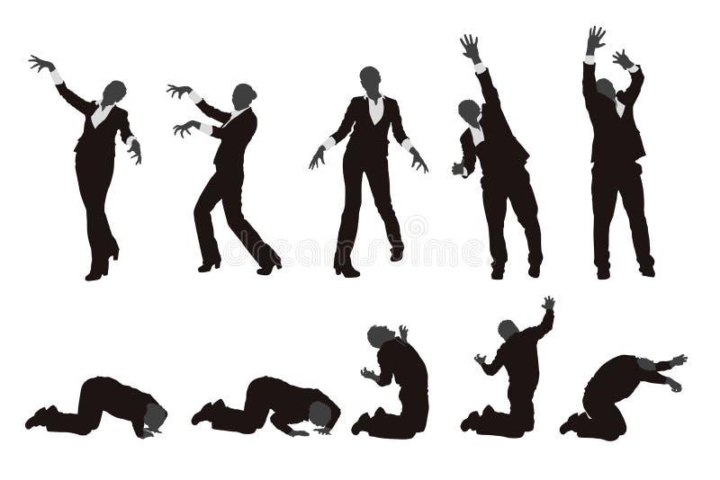 Изображение zombie22 иллюстрация штока