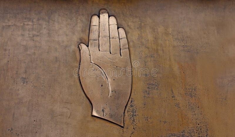 Изображения запаса скульптуры металла руки стоковые фото