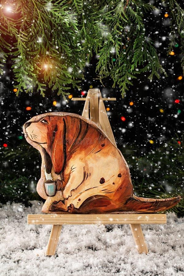 изображения находки печений рождества смотрят больше моего портфолио такая же серия к Символ собаки года 2018 стоковое изображение