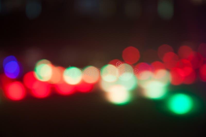 Изображения светов предпосылки Bokeh defocused стоковые изображения rf