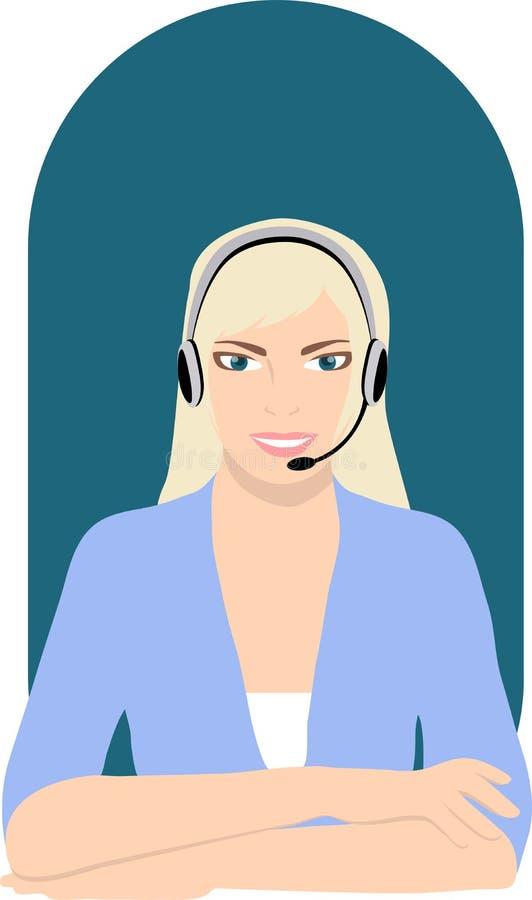 изображения центра телефонного обслуживания предпосылки 3d изолировали белизну бесплатная иллюстрация