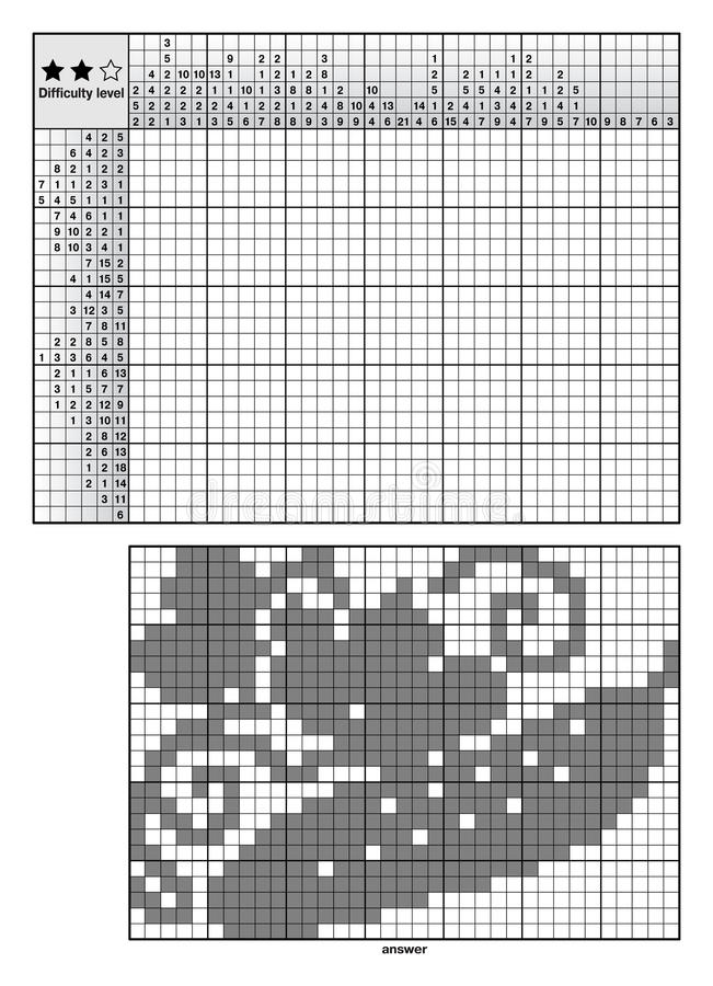 Головоломки логики изображения иллюстрация вектора