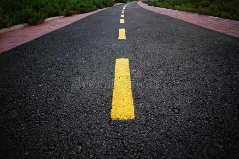 изогнутая дорога стоковое фото rf