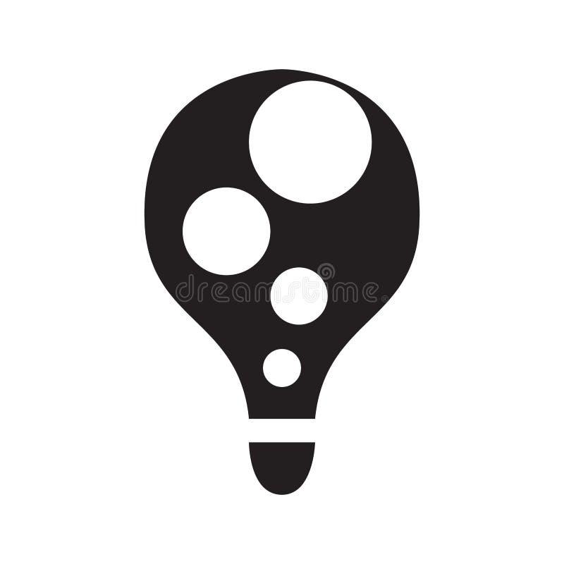 Изолированная абстрактная концепция лампочки бесплатная иллюстрация