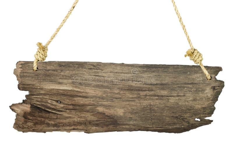 изолированная белизна сбора винограда signboard стоковое изображение