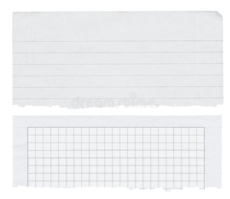 изолированная знаменами белизна бумаги 2 стоковые фотографии rf