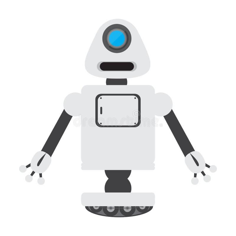 Изолированная игрушка робота - вектор иллюстрация вектора