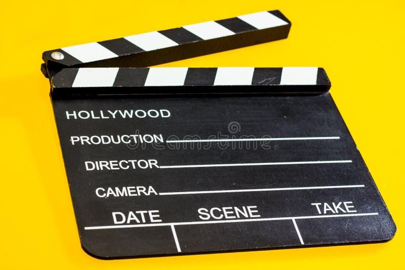 Изолированная колотушка фильма стоковое фото rf