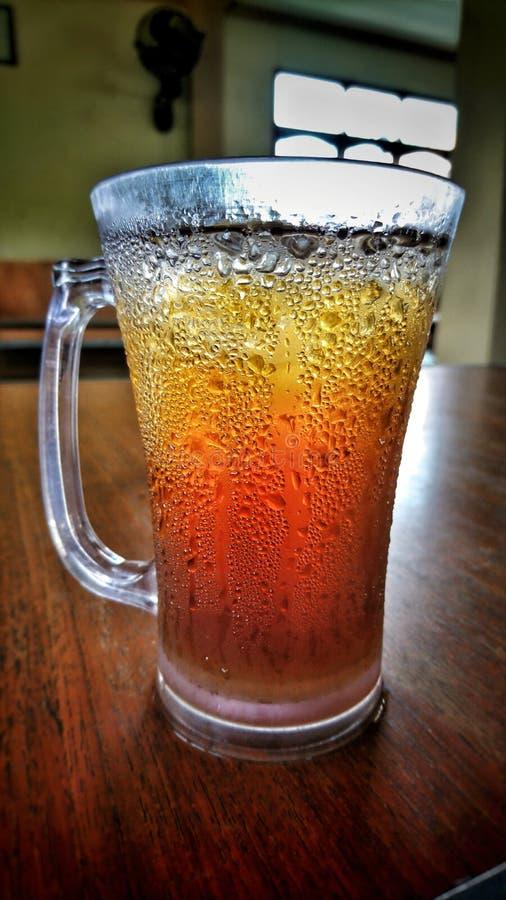 изолированная льдом белизна чая стоковые фото