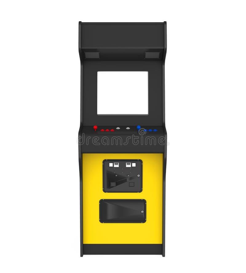 Изолированная машина видеоигры иллюстрация штока