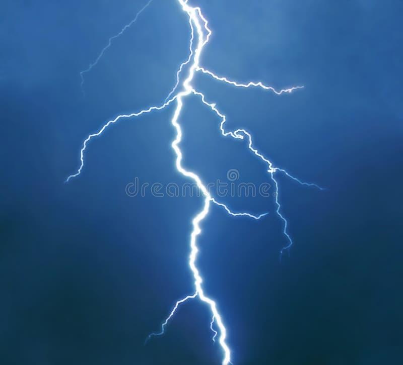 изолированная молния реальная стоковые изображения rf