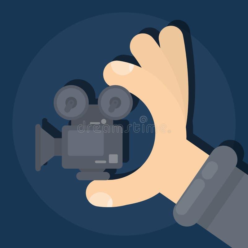 изолированная пленка камеры бесплатная иллюстрация
