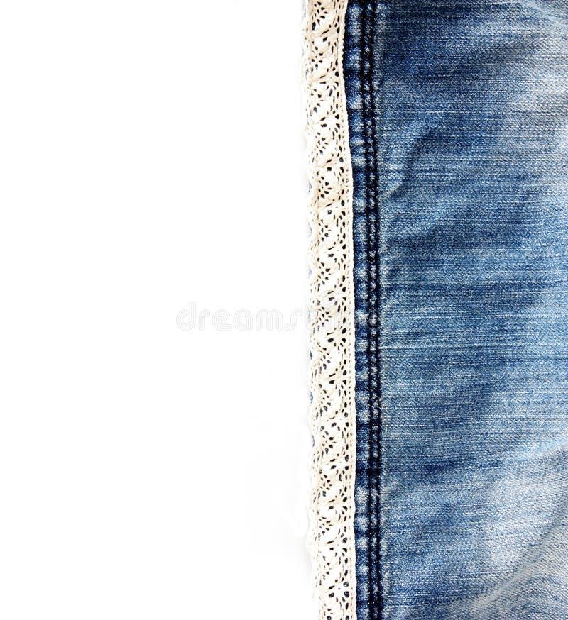 Изолированная предпосылка джинсовой ткани стоковое фото