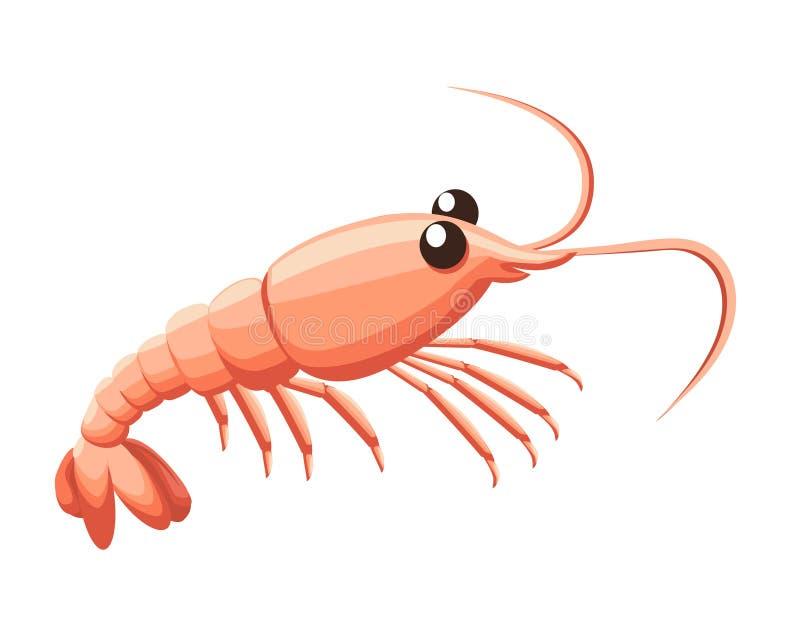 изолированная предпосылкой белизна шримса море петрушки еды рыб зажаренное в духовке плитой стоковые фотографии rf