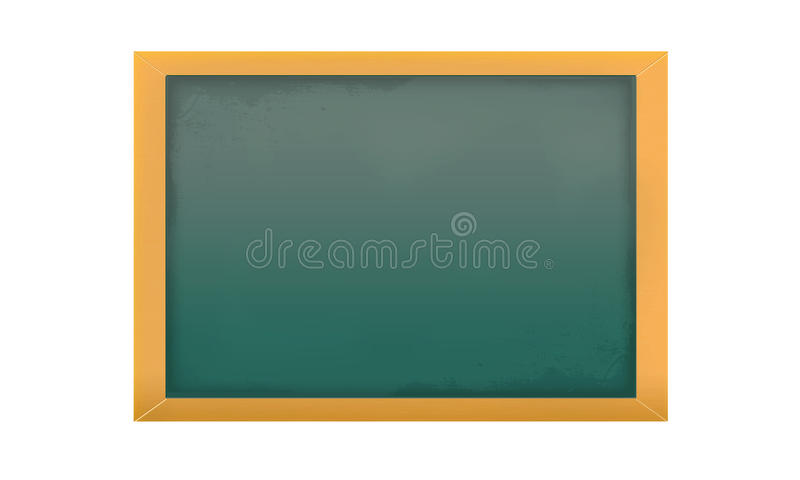 изолированная пустая chalkboard иллюстрация штока