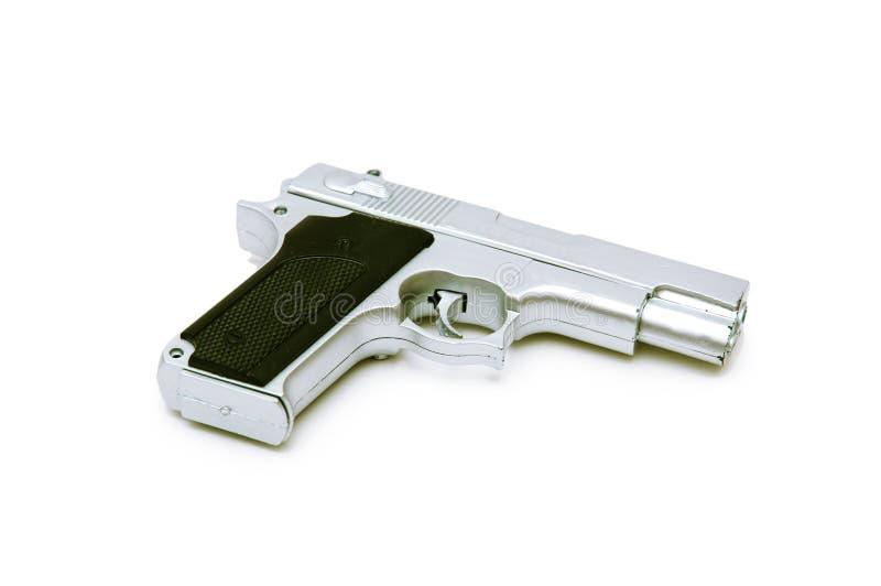 изолированная пушка стоковое изображение rf