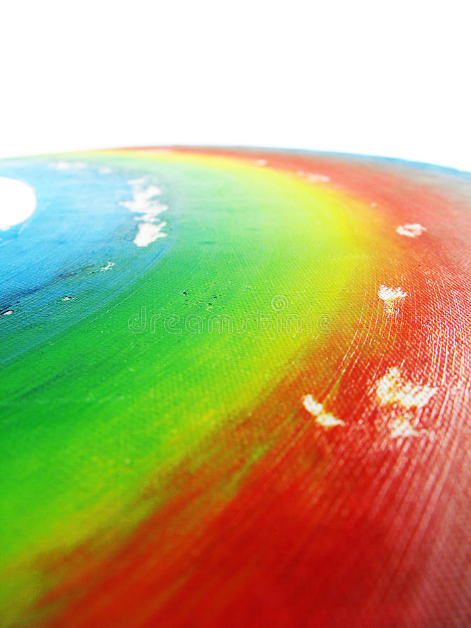 изолированная радуга стоковые изображения