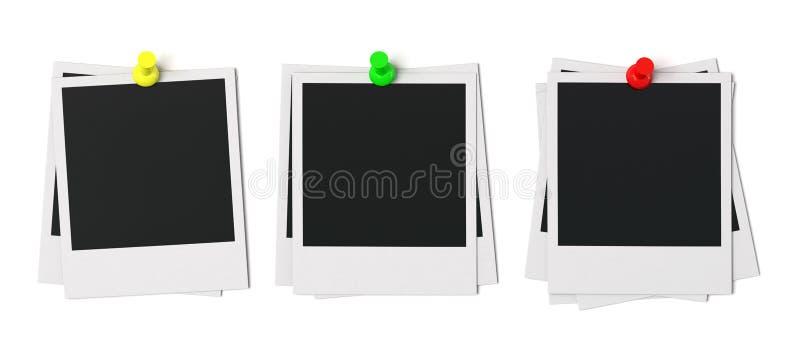 Изолированная рамка фото с Pin нажима бесплатная иллюстрация