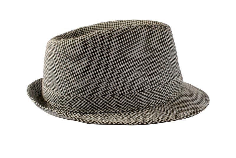 Изолированная шляпа на белой предпосылке стоковое изображение rf