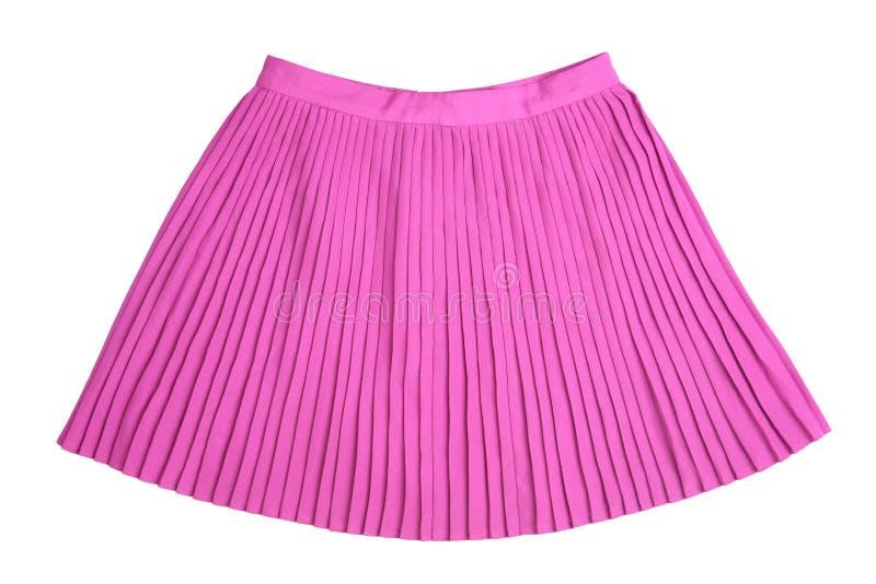 Изолированная юбка красивого аккордеона мини стоковая фотография