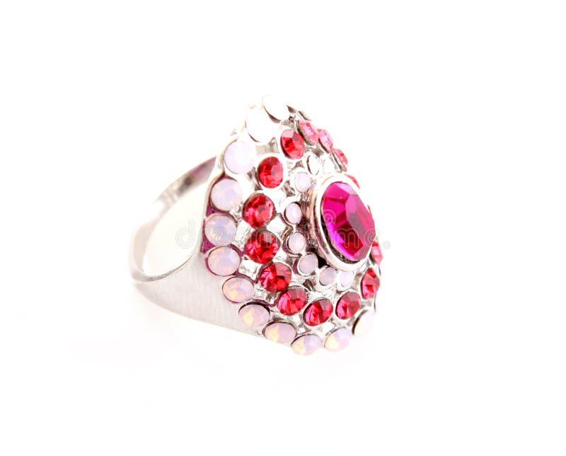 изолированное кольцо jewellery стоковая фотография rf