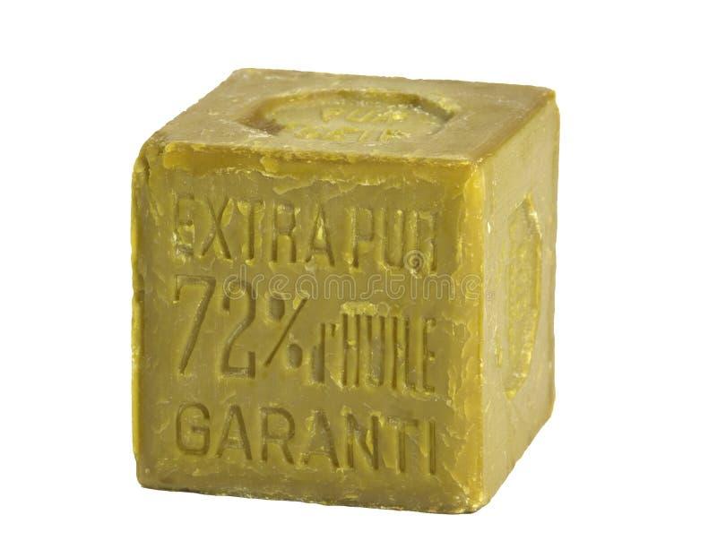 изолированное мыло оливки масла стоковое изображение rf