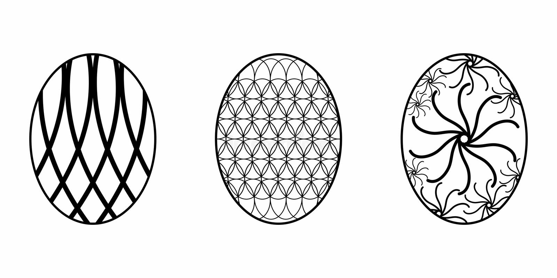 Изолированное пасхальное яйцо стоковое фото