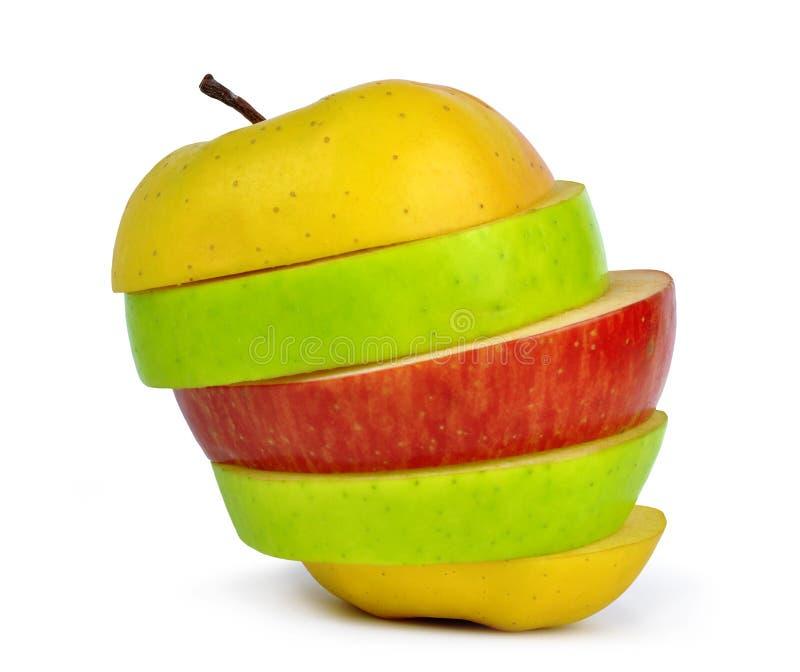 Изолированное смешивание Apple стоковые фото