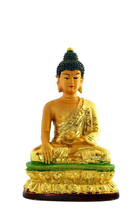 изолированное budha стоковая фотография