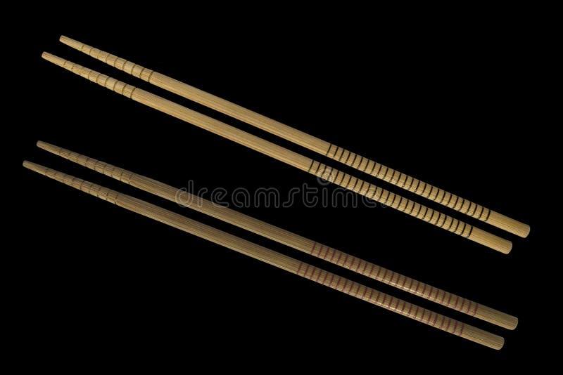 2 изолированной пары hashi стоковое фото rf
